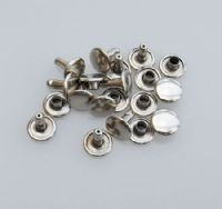 Double Cap - 9mm -Silver Nickel